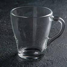 Стеклянный набор 6 чашек+6 блюдец ОСЗ Грация, фото 3