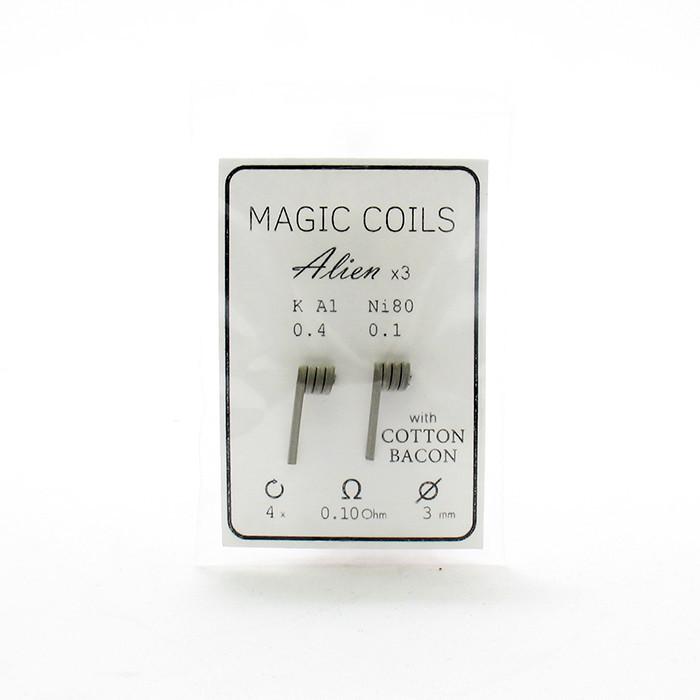 Комплект спиралей Magic Coils Alien №41 2 шт 0.10 Ом