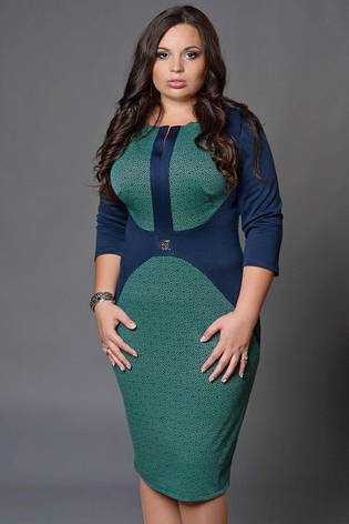 Стильное платье большой размер, фото 2