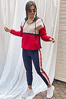 Спортивний костюм худі і штани джоггеры YARE - синій колір, 38р (є розміри), фото 1