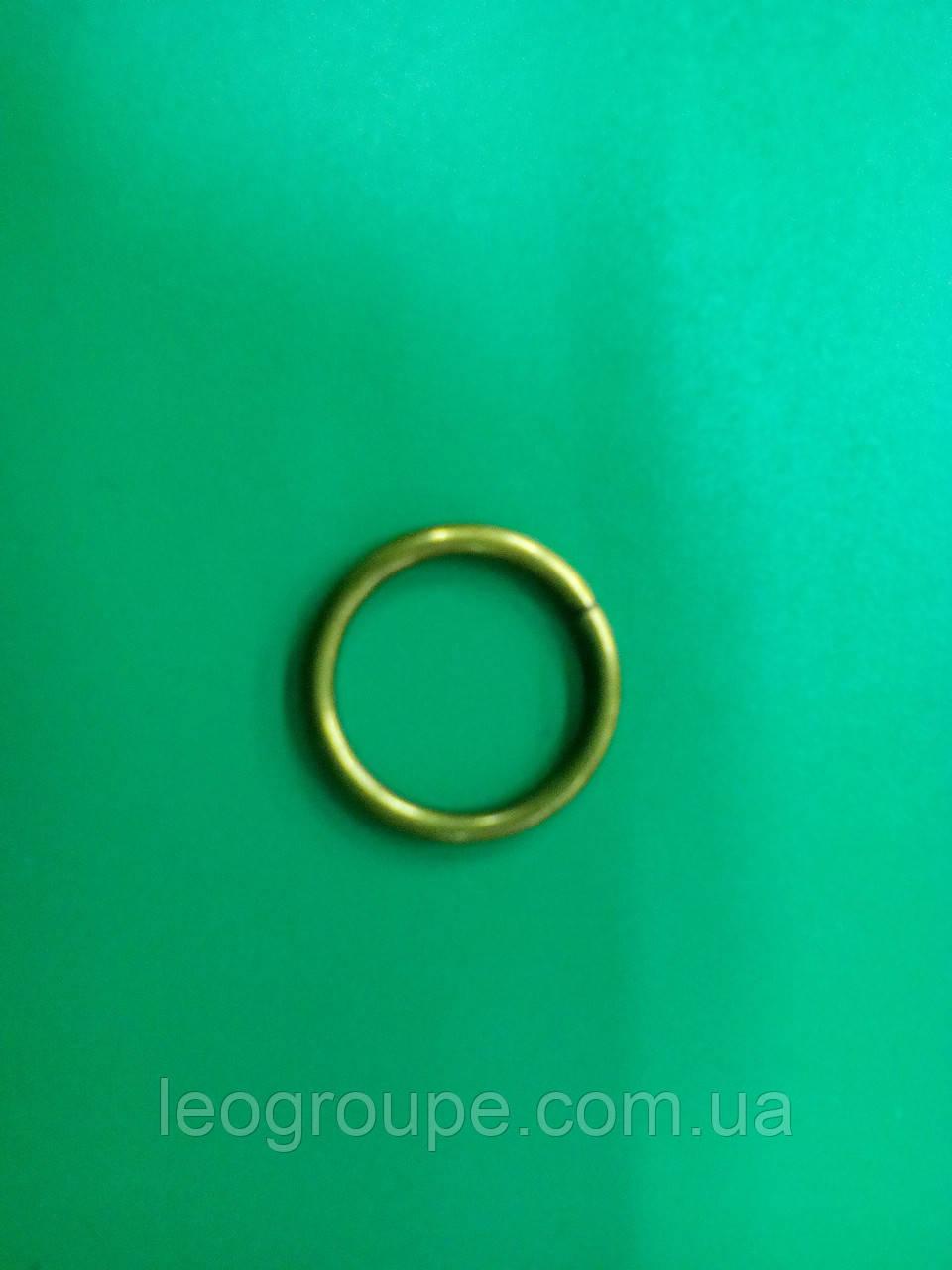 Кольцо для трубы 19мм антик (30мм)