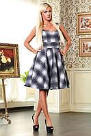 Платье из неопрена серое Мэрлин В2 Медини 42-44 размер
