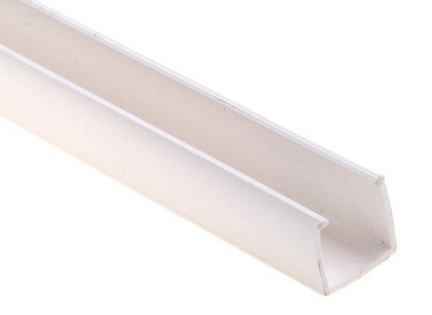 Профиль пластиковый PROLUM™ для светодиодного неона 8x16 (1м)