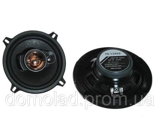 Автомобільні Колонки TS 1396 Max Круглі Автоколонки Діаметр 150 мм Потужність 600 Вт