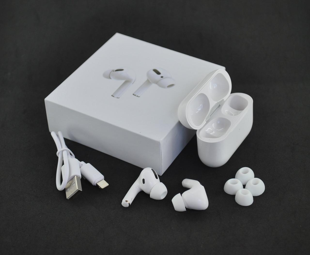 Беспроводные наушники Bluetooth-гарнитура Air Pro JL (+кейс для зарядки и хранения) White