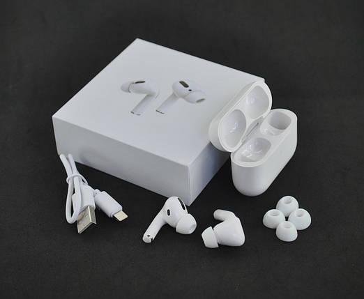Беспроводные наушники Bluetooth-гарнитура Air Pro JL (+кейс для зарядки и хранения) White, фото 2