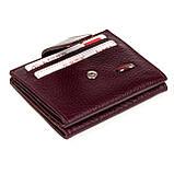 Кошелек для карточек из натуральной кожи BUTUN 131-004-002 бордовый, фото 3