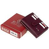 Кошелек для карточек из натуральной кожи BUTUN 131-004-002 бордовый, фото 6