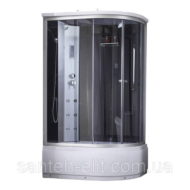 Гидромассажный бокс Q-tap SBM12080.2L SAT (Black/Grey)
