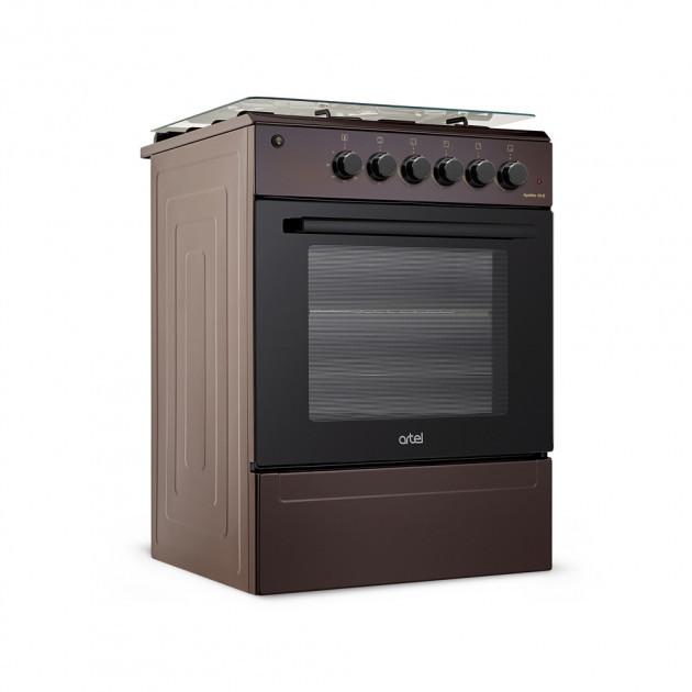 Плита комбинированная ARTEL Apetito 10-E Brown