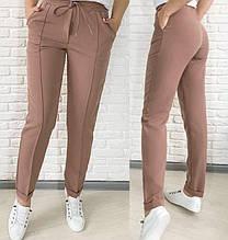 """Стильні жіночі брюки з високою посадкою """"Indigo"""""""