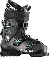 Горнолыжные ботинки Salomon QUEST ACCESS CUSTOM HEAT ANTHRACITE TRANSLUCE/BLACK/GREEN (MD)