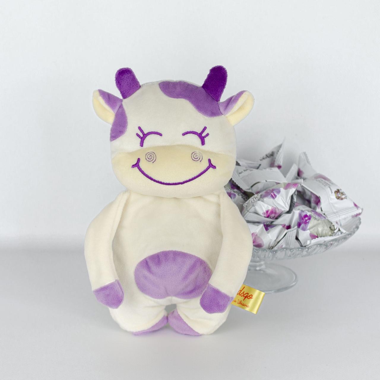 Мягкая игрушка для конфет Kidsqo Корова Хлоя 26 см