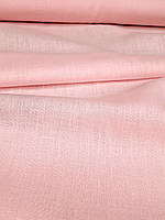 Льняная костюмная ткань нежно - розового цвета, фото 1