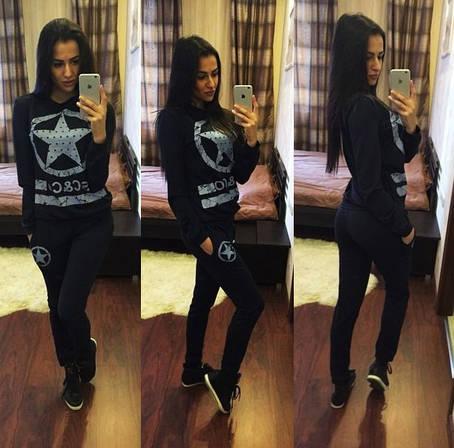 Женский спортивный костюм звезда двунитка , фото 2