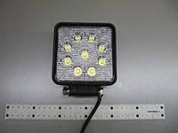Дополнительная фара 27Вт. LED GV1210-27W flood на трактор. https://gv-auto.com.ua, фото 1