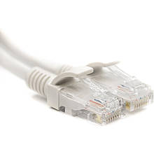 Патч-корд PowerPlant Cat5E UTP 0.5м, белый