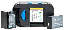 Універсальне з/у PowerPlant для всіх типів акумуляторів + 2 AA/ BM-001