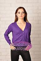 Кофточка YES/NO LN-31110 (фиолетовый), фото 1