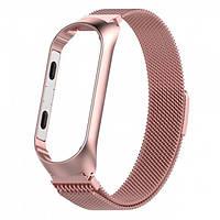 Браслет TTech Milanese Steel Loop Series для Xiaomi Mi Band 4 Pink