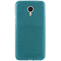 Чехол TTech Glitter TPU Series для Meizu M5 Note Blue (2000000173832)