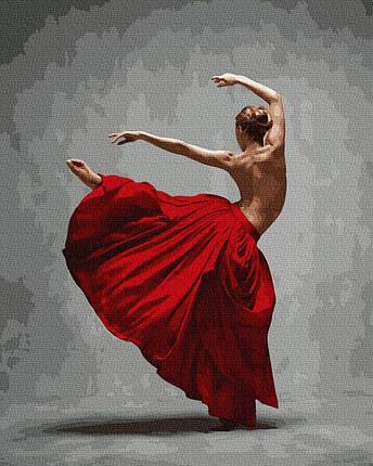 BK-GX36055 Картина для рисования по номерам Грация танца, Без коробки, фото 2