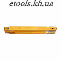 Метр складной деревянный 1000 мм VOREL 15010