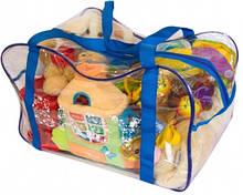 Сумка в роддом, для игрушек Organize синий K005 SKL34-176268