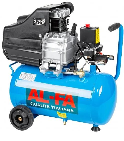 Компресор AL-FA ALC-24 24 літра - 1 поршневий компресор компресор повітряний