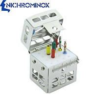Эндодонтическая кассета на 1-16 стоматологических инструментов, Nichrominox