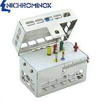 Эндодонтическая кассета на 2-32 стоматологических инструмента, Nichrominox