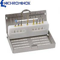 Эндодонтический бокс Endo Pro на 12 стоматологических инструментов, Nichrominox