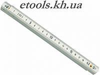 Складной метр пластмассовый 2метра Vorel 15070