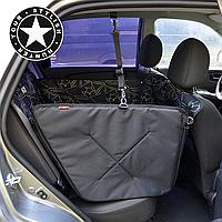 Автогамак для собак, на 1/2 задних сидений авто. Mini Star. Защитный чехол для собак в машину