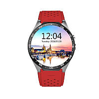 Умные часы Smart Watch KW88 Red (SWKW88R)