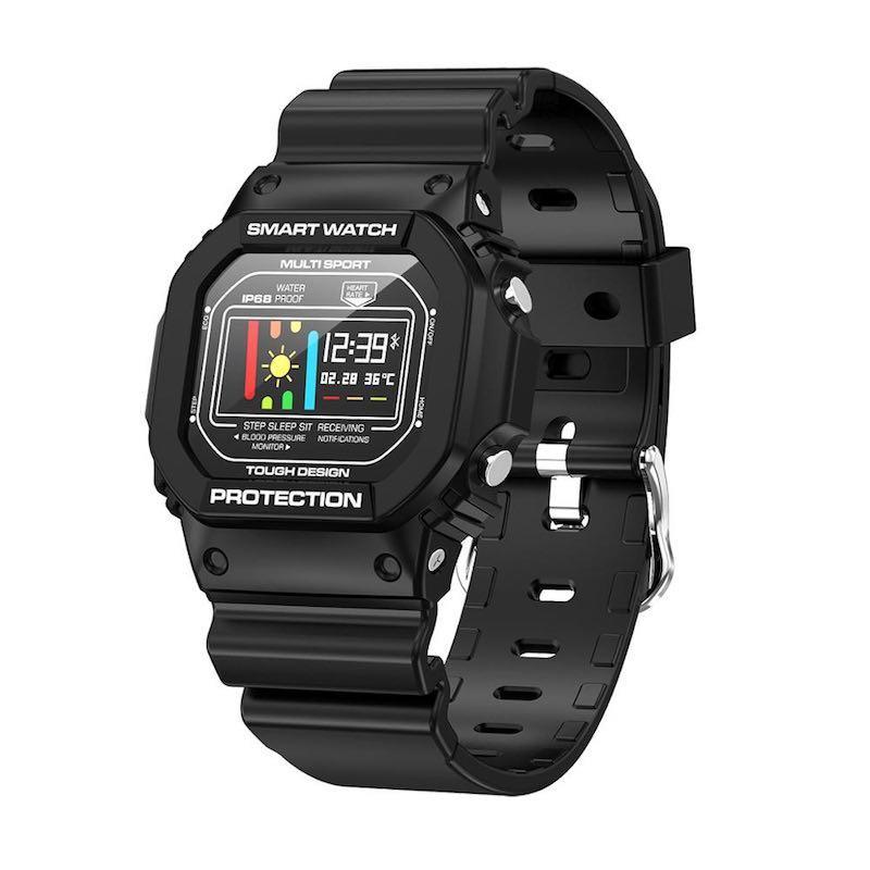 Умные часы-браслет Smart watch-bracelet X12 Pro с тонометром Black (SW0001X12BL)
