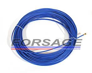 Спираль подающая под проволоку Ø0,6 - 1,0 мм (синяя)