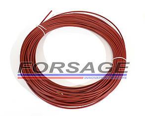 Спираль подающая под проволоку Ø1,0 - 1,2 мм (красная)