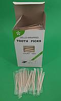 Зубочистка с ментолом в индивидуальной целлофановой упаковке (1000 шт) (1 пач), фото 1