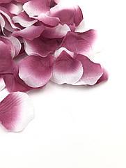 Штучні пелюстки троянд бордові
