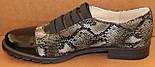 Туфли женские кожаные большого размера от производителя модель БР585-1, фото 3