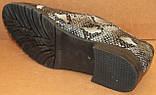Туфли женские кожаные большого размера от производителя модель БР585-1, фото 4