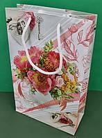 Бумажный пакет подарочный Средний 17/26/8 (артSV-192) (12 шт), фото 1