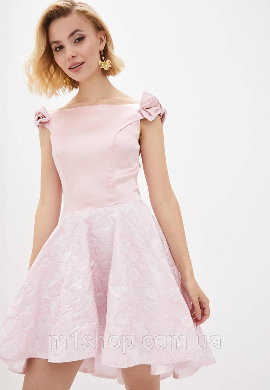 Платье с набивным кружевом (Марита lzn)