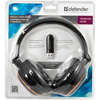 Беспроводная накладная гарнитура c микрофоном DEFENDER Freemotion HN-084 wireless