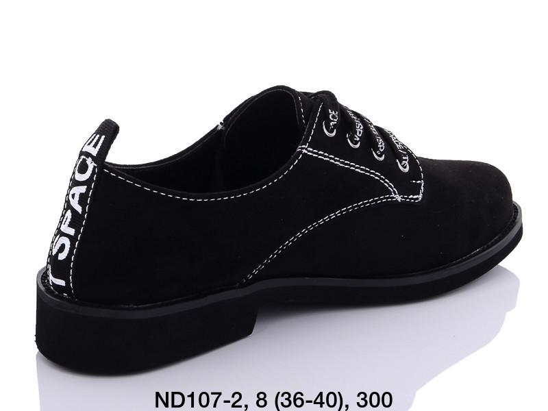 Туфли женские черные Teetspace-Trasta-Egga-ND107-2