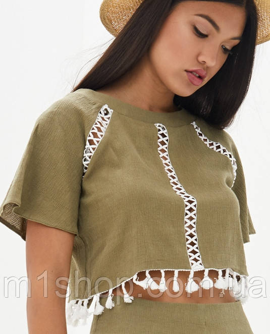 Женская блуза-топ (Тесса lzn)