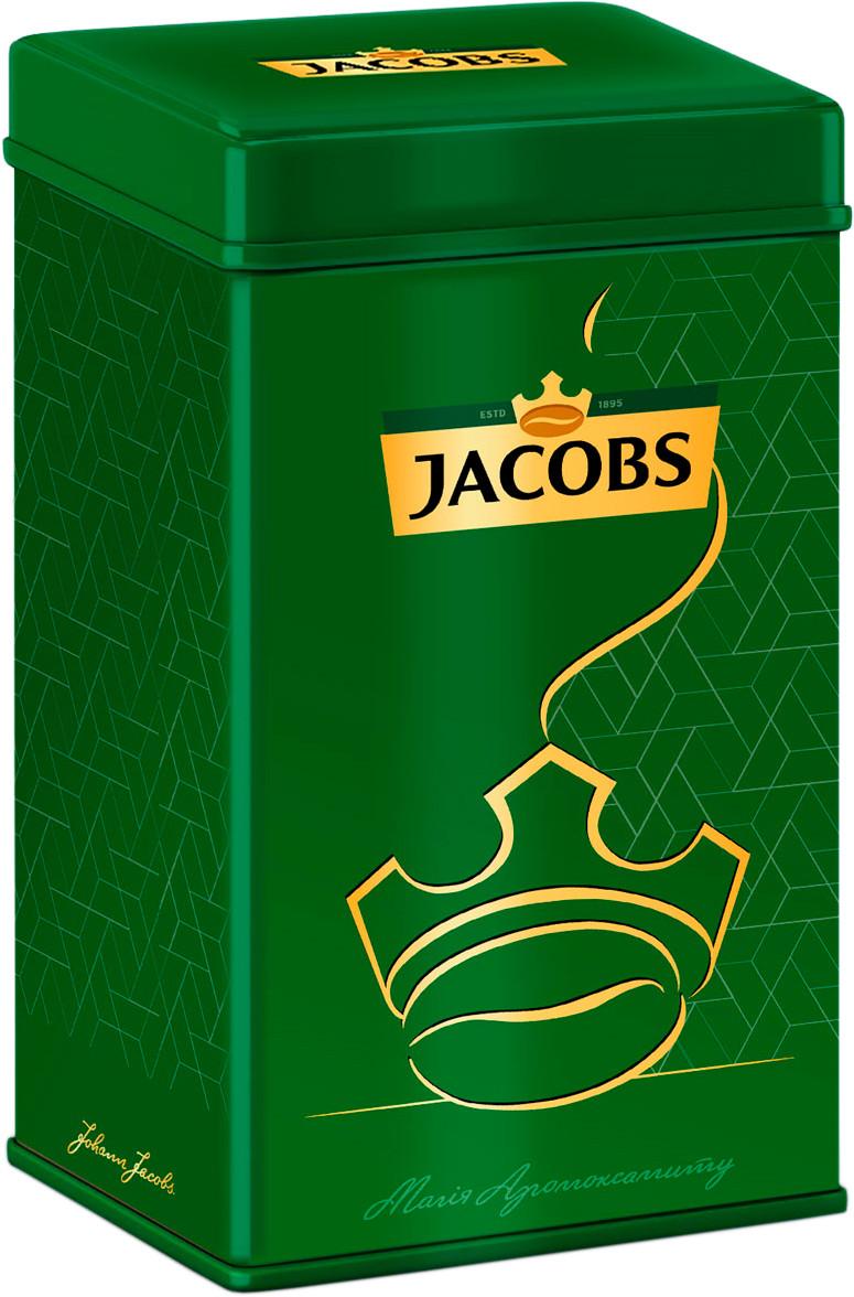 Кава розчинна сублімована Jacobs Monarch 200 г в жерстяній банці