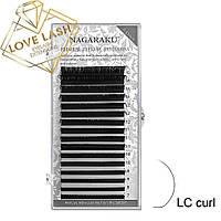Ресницы Nagaraku Mix LC изгиб (Нагараку)