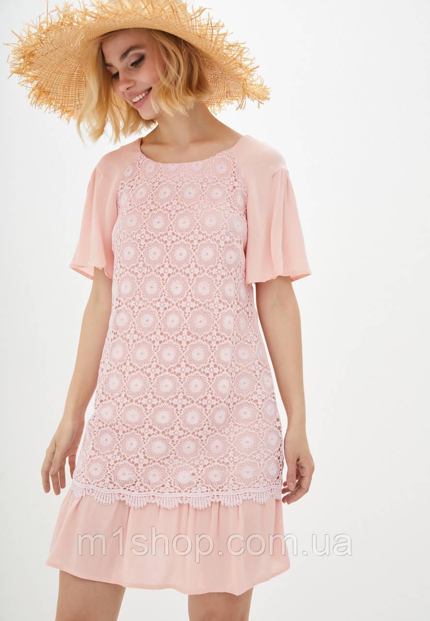 Платье с ажурной тканью (Франческа lzn)